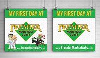 *NEW! First Day At PMA Poster | Set of 2
