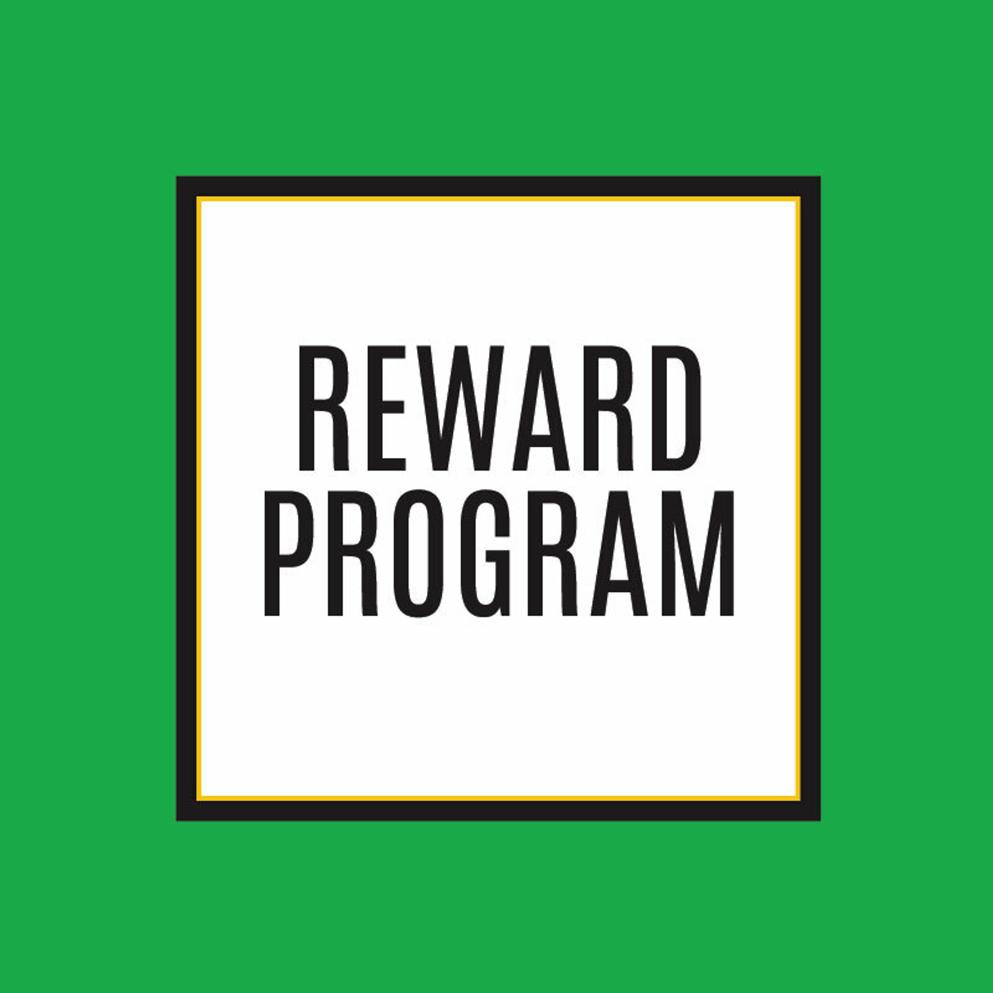 Reward Program Sale