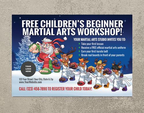 *NEW!! Children's Beginner Martial Arts Workshop | Santa Style