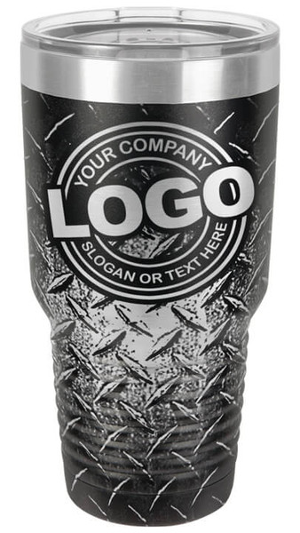 Diamond Plate 30oz Tumbler