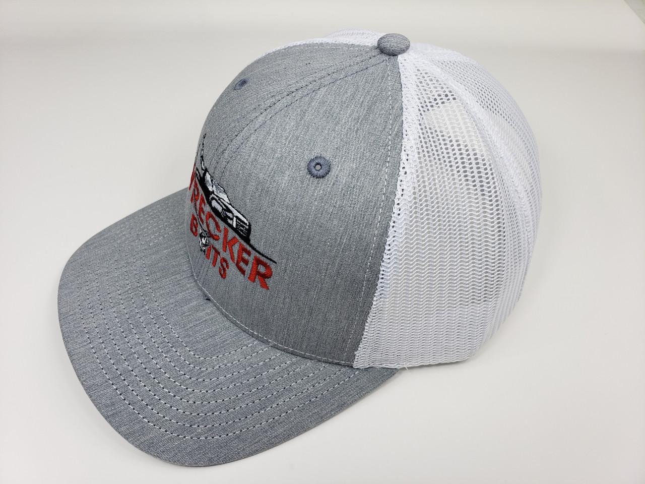 Wrecker Gray Trucker Hat