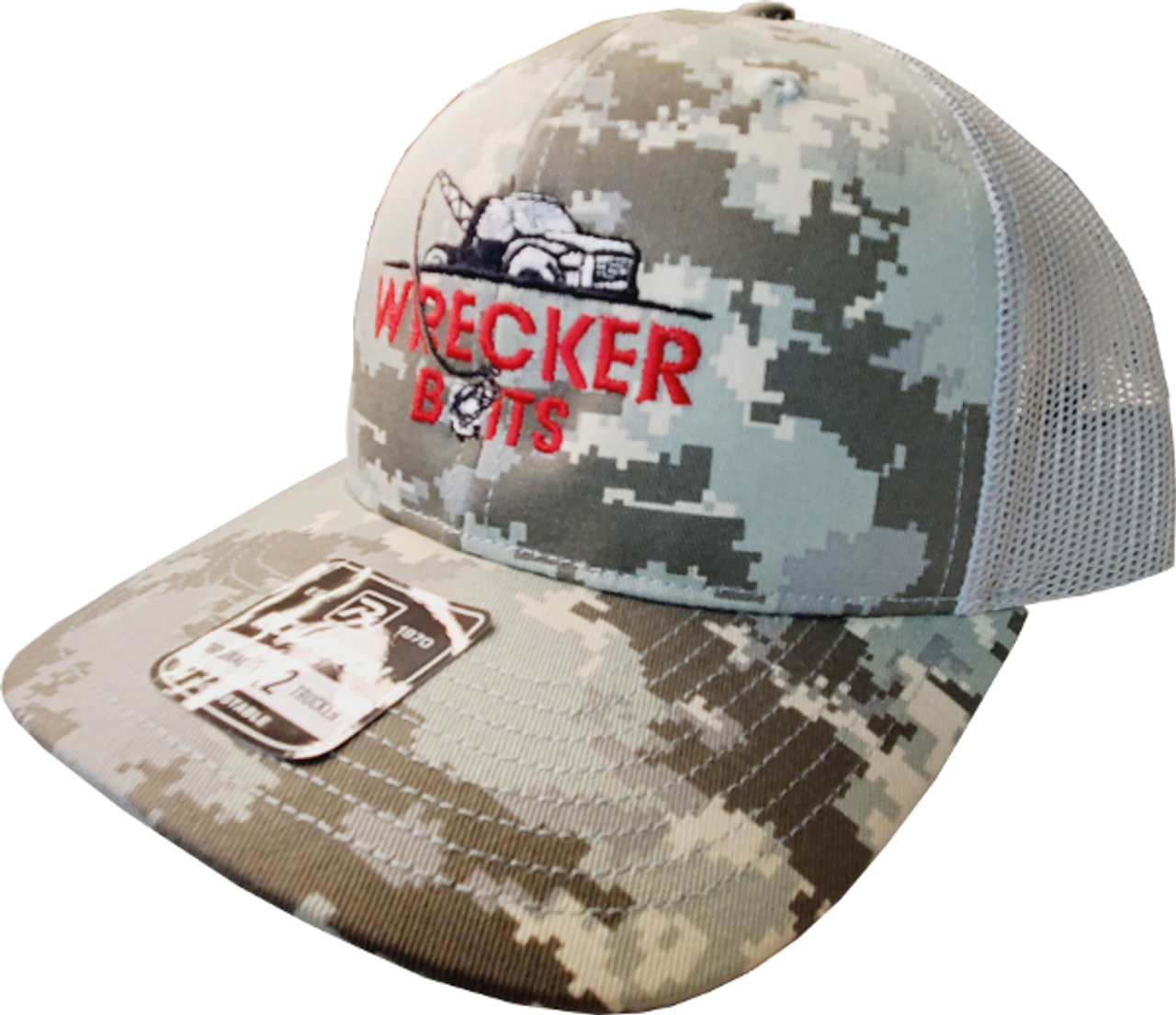 Wrecker Camo Trucker Hat 112
