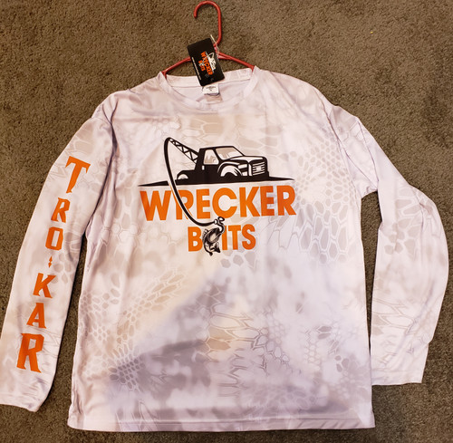 Wrecker UV SPF50 Performance Fishing Shirt