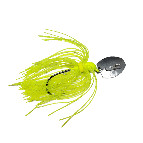 Wrecker Baits Bladed Vibrating Jig With Trokar Hook