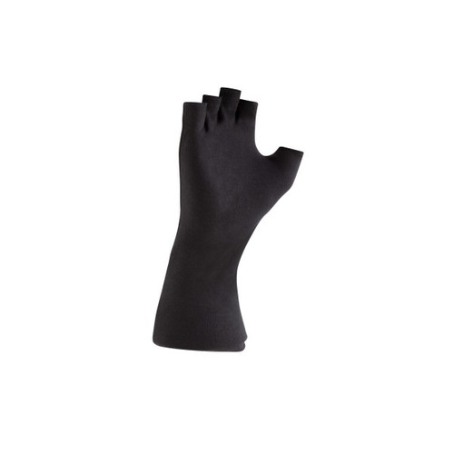 Long Writed Black Cotton Gloves