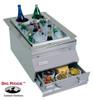 Fire Magic 1D-S0 Ice Bin Cooler Built-In Bar Caddy