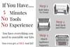 90 Degree DIY Outdoor Kitchen Frame Kit