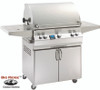 Fire Magic A660s-5EAN-62 Aurora Gas Grill With Single Side Burner On Cart