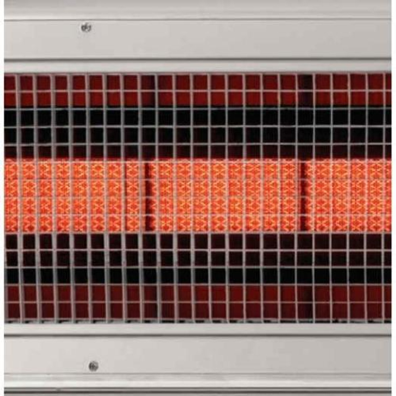 lynx lhem48 stainless steel 48 inch 35 000 btu propane or natural gas infrared patio heater with remote and wall mount switch
