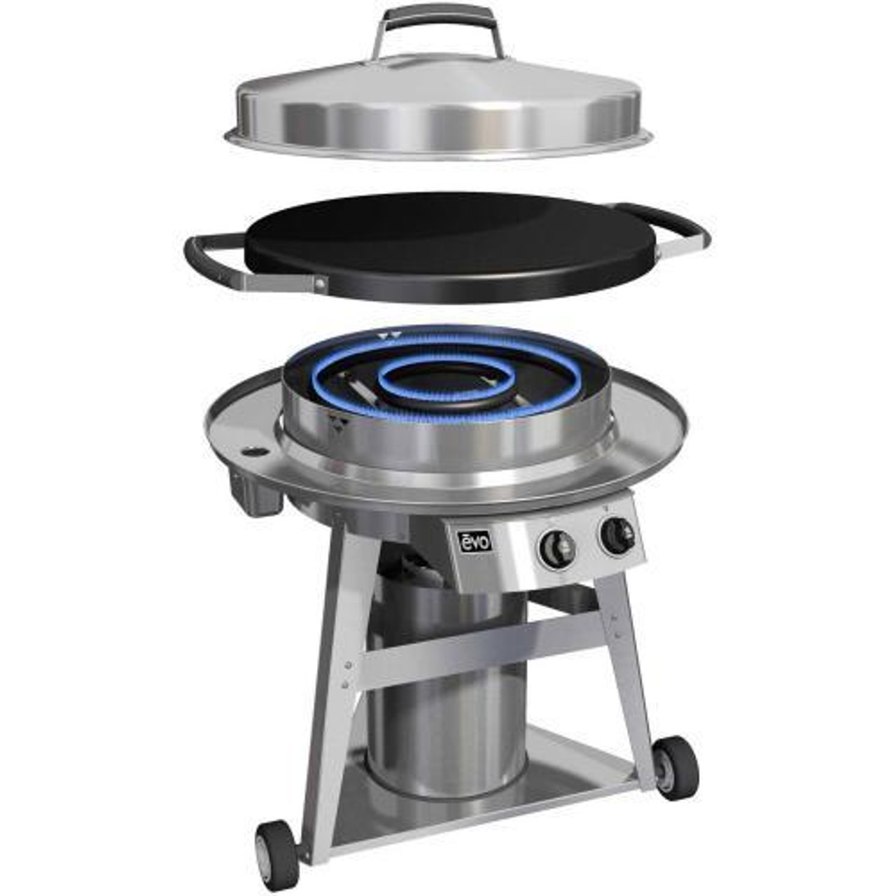 Evo 10 0002 Lp Or 10 0002 Ng Professional Classic Wheeled Cart Flattop Propane Or Natural Gas Grill Bigridgeoutdoorkitchens Com Which evo grill should you buy? evo 10 0002 lp or 10 0002 ng professional classic wheeled cart flattop propane or natural gas grill