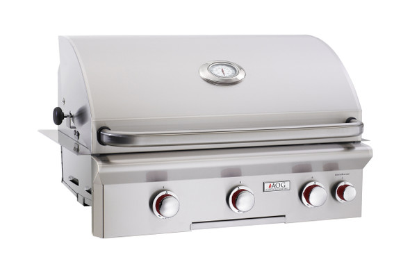 AOG 30NBT T-Series 30-Inch Built-In Gas Grill With Rotisserie