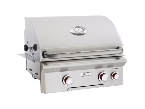 AOG 24NBT T-Series 24-Inch Built-In Gas Grill With Rotisserie