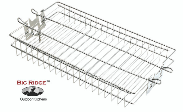 Fire Magic 3618 Stainless Steel Flat Rotisserie Basket