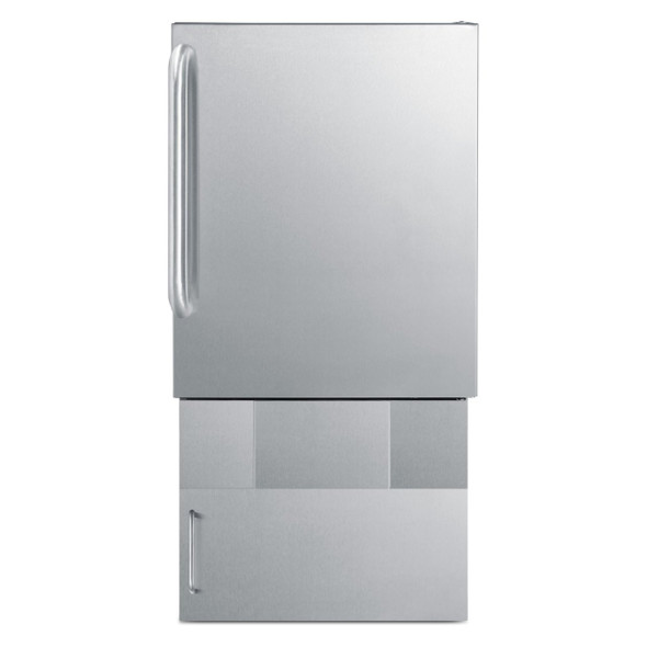Summit BASE34 Storage Base To Increase Height Of BIM240S Ice Maker TO 34""