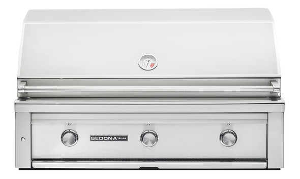 Sedona By Lynx L700PS Lynx Sedona 42-Inch Gas Grill - Built-In Natural BBQ Gas With Infrared ProSear Burner & Two Stainless Steel Burners