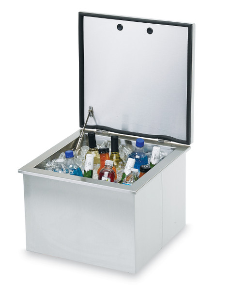 "Sedona By Lynx LDC18 18"" Drop In Ice Bin Stainless Steel Cooler"