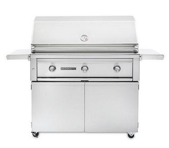 Sedona By Lynx L700PSF 42-Inch Freestanding Gas Grill Gas BBQ With Infrared ProSear Burner & Two Stainless Steel Burners