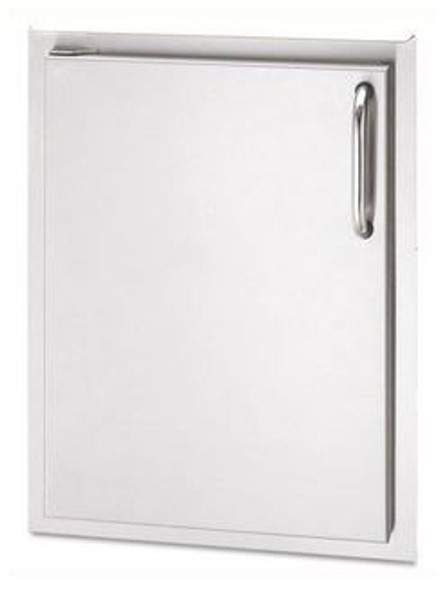 AOG 24-17-SSDL 17 Inch Left Hinged Single Access Door - Vertical