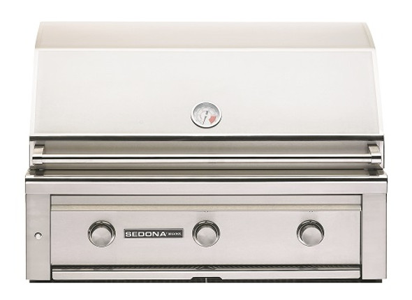 Sedona By Lynx L600 36-Inch Built-In BBQ Gas Grill With Three Stainless Steel Burners