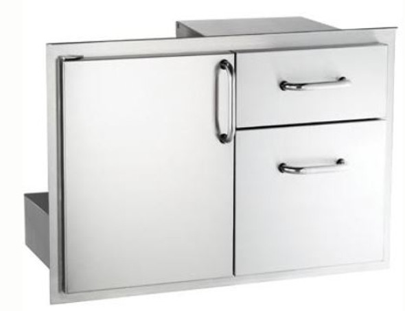 Fire Magic 33810S Select 30-Inch Access Door & Double Drawer Combo