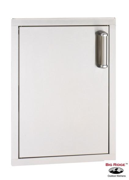 Fire Magic 53920SC-L Premium Flush Mount Vertical 14 Inch Left Hinged Single Access Door