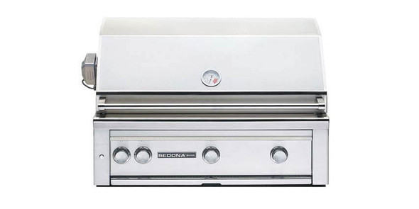 Sedona By Lynx L600PS 36-Inch Built-In BBQ Gas Grill With ProSear Burner & Two Stainless Steel Burners