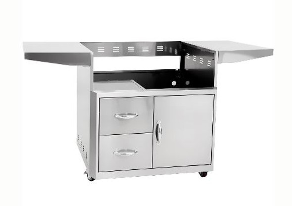 Blaze BLZ-3PRO-CART Professional Grill Cart For 3-Burner Professional Grill