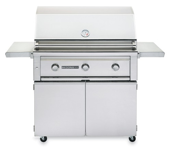 Sedona By Lynx L600F 36-Inch Freestanding Gas Grill With Three Stainless Steel Burners