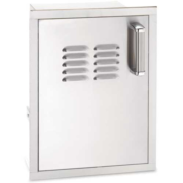 Fire Magic 53820SC-TL Premium Flush Mount 14 Inch Left Hinged Single Access Door W/Tank Tray And Louvers