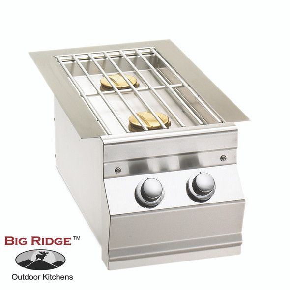 Fire Magic 3281L Aurora Built-In Gas Double Side Burner