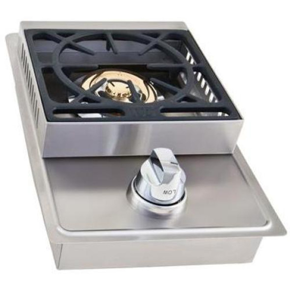 Lion L6247 Or L5631 Stainless Steel Single Drop-In Side Burner-Propane Or Natural Gas