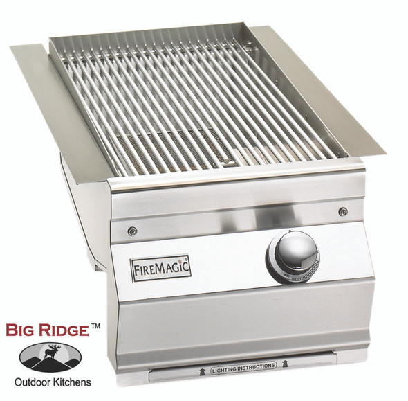 Fire Magic 3287-1 Aurora Built-In Searing Station/Side Burner