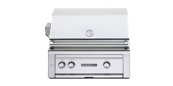 Sedona By Lynx L500PS 30-Inch Built-In BBQ Gas Grill With One ProSear Burner & One Stainless Steel Burner