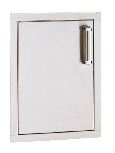 Fire Magic 53924SC-L Premium Flush Mount Left Hinged Vertical 17 Inch Single Access Door