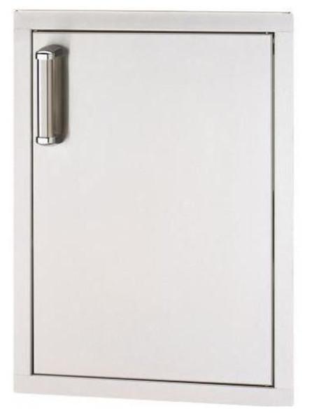 Fire Magic 53924SC-R Premium Flush Mount Right Hinged Vertical 17 Inch Single Access Door