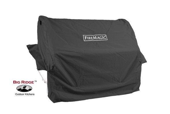 Fire Magic 3644F Grill Cover For Aurora A430 Built-In Gas Grill Or 24-Inch Built-In Charcoal Grill