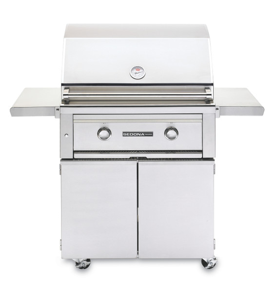 Sedona By Lynx L500PSF 30-Inch Freestanding Gas Grill With One Infrared ProSear Burner And One Stainless Steel Burner