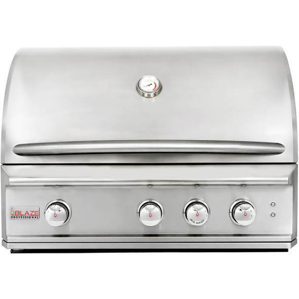 Blaze Professional BLZ-3PRO 34 Inch 3 Burner Natural Or Propane Gas Grill