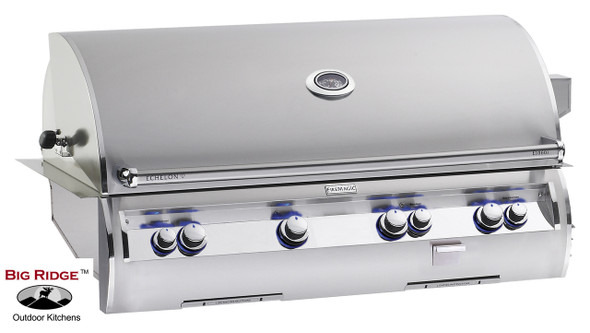 Fire Magic E1060i-4EAN 48-Inch Echelon Diamond Built In Analog Thermometer Grill and Rotisserie Back Burners
