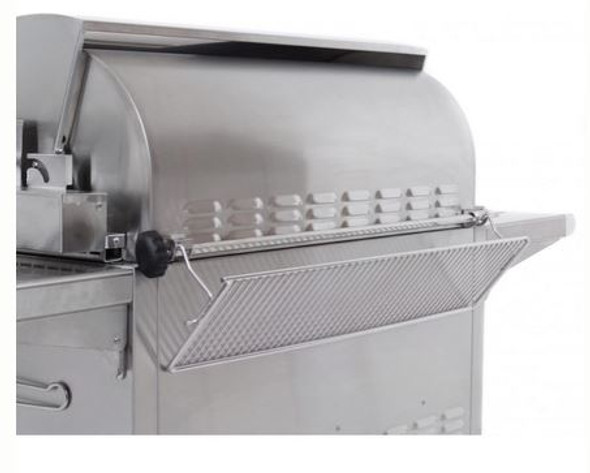 Fire Magic A830i-6EAN-CB  Aurora Built In Gas And Charcoal Combo Grill With Rotisserie Back Burner & Grill Light