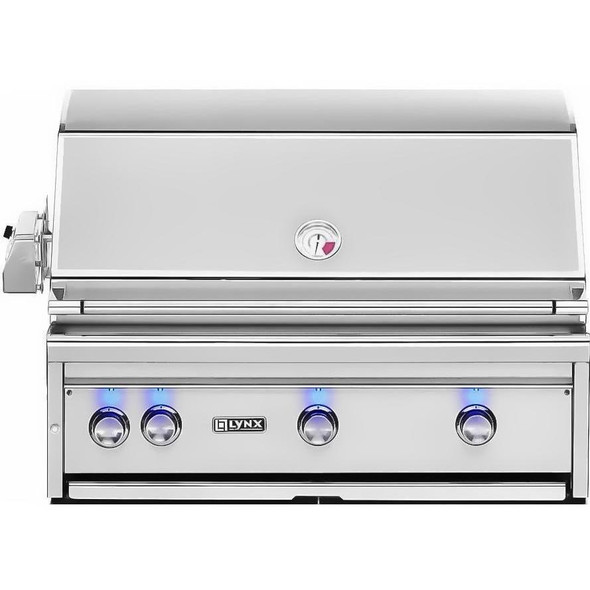 "Lynx L36R-3 Professional 36"" Built-In Grill with Rotisserie"