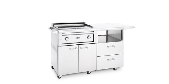 "Lynx L30AG-M Professional 30"" Asado Grill With Mobile Kitchen Cart"