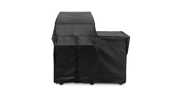 "Lynx CC30FM 30"" Grill Cover or Smoker Cover for Mobile Kitchen Cart-Carbon Vinyl"