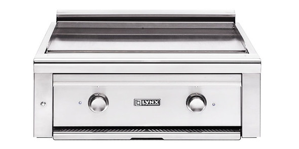 "Lynx L30AG Asado 30"" Built-In Propane Or Natural Gas Flat Top Grill"