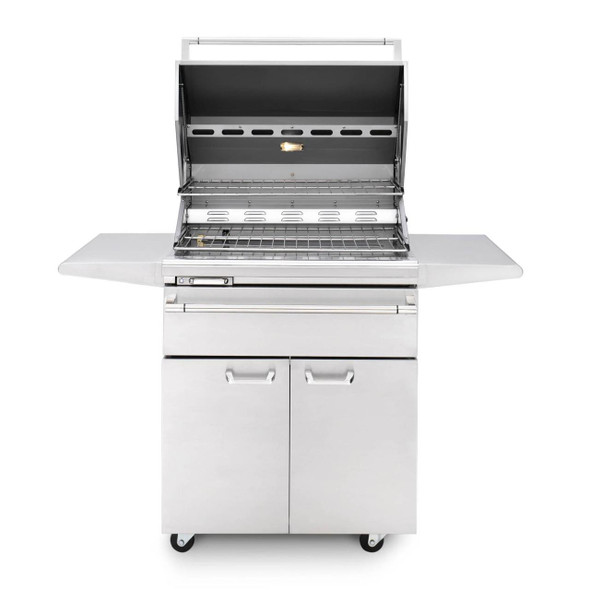 Lynx LSMKF Sonoma 30-Inch Stainless Steel Freestanding Propane Or Natural Gas Smoker