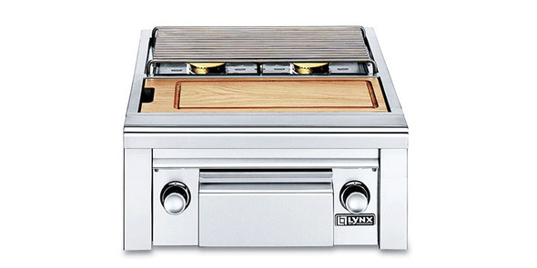 Lynx LSB2PC-1 Professional Double Side Burner with Integral Prep Center