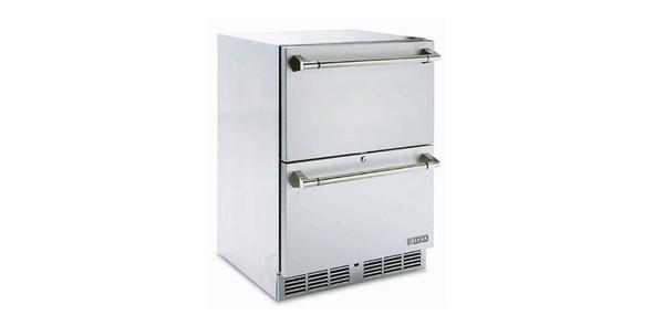 """Lynx LM24DWR Professional 24"""" Two Drawer Refrigerator"""