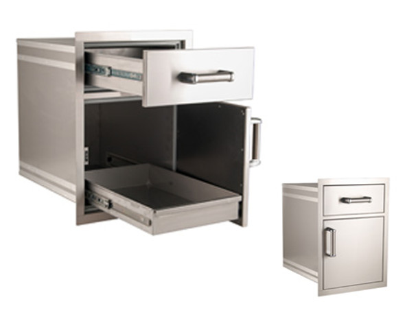Fire Magic 54018S Premium Medium Pantry Drawer/Door Combo
