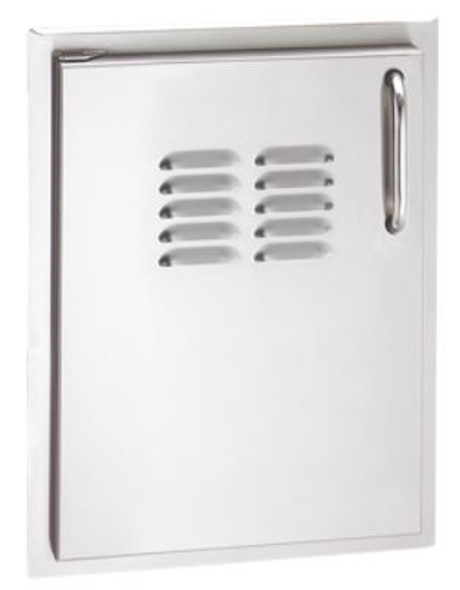 Fire Magic 33920-1-SL Select 21 Inch Left Hinged Single Access Door With Louvers