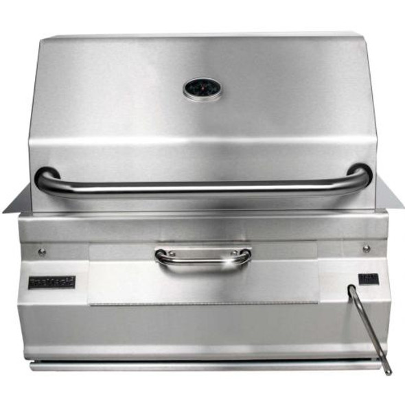 Fire Magic 12-SC01C-A Legacy 24-Inch Built-In Meat Smoker Charcoal Grill